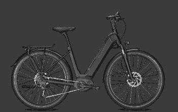 Kalkhoff Endeavour 5.B Move Diamond Elektrisk sykkel svart grå - L - Sykkel