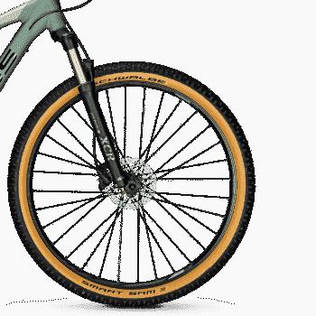 """Focus Whistler 3.8 27.5 """"MTB-sykkel Grønngrå - S - Sykkel"""