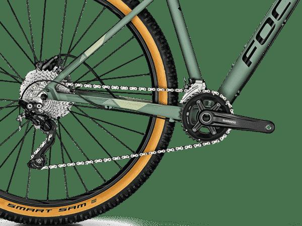 """Focus Whistler 3.8 27.5 """"MTB-sykkel Grønngrå - S - Terrengsykkel"""