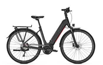 Kalkhoff Endeavour 5.B Season 2021 Electric Step Thru 630Wh Black - Sykkel