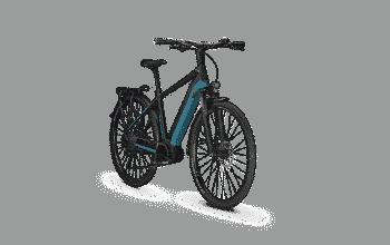 Trekking e-sykkel Kalkhoff Integrale I11 Speed 11g 17 Ah 2018 BL - Sykkel
