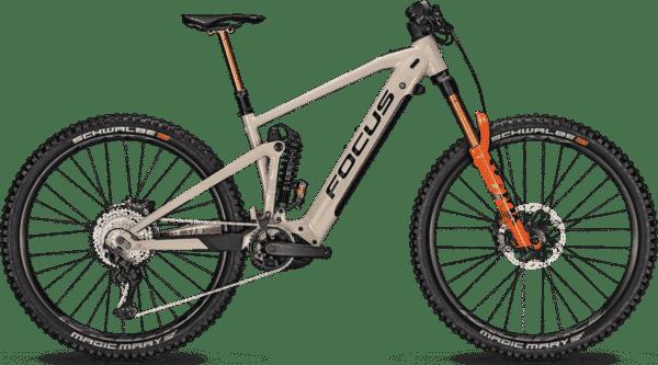 Focus Sam2 6.9 2021 625Wh Terrengsykkel med full oppheng - Brun - El-sykkel