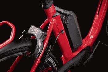 Kalkhoff AGATTU 1.B Advance Comfort R 2021 Elektrisk sykkel rød - L - Sykkel