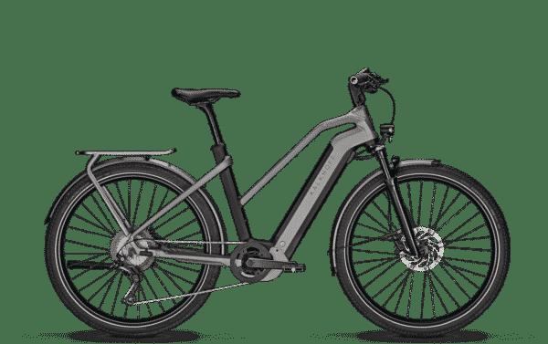 Kalkhoff Endeavour 7.B Move Trapez Elektrisk sykkel svart matt grå - L - Kalkhoff Endeavour 7.B Belt Diamond Electric Bicycle Black Matte Grey - L