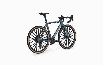 Focus Mares 9.7 Cyclo-Cross Bike Svart Grå Rosa - L - Focus Mares 9.8 Cyclocross Bike Grå Blå - L