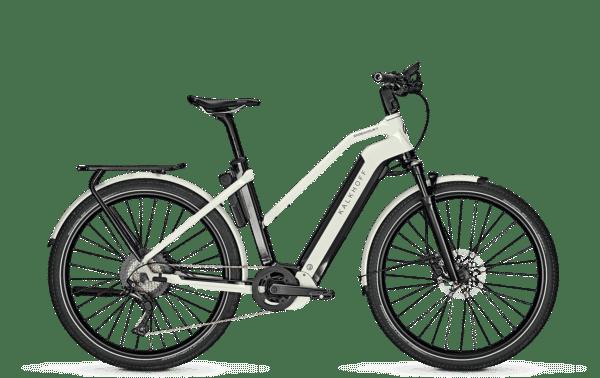 Kalkhoff Endeavour 7B Advance i hvit farge. Elsykkel med Bosch Performance CX motor